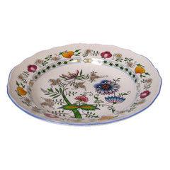 Cesky Porcelan Тарелка глубокая флажная Rokoko Nature 10002/18296 (24см)