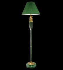 Напольный светильник Евросвет 009/1T GR (зеленый)