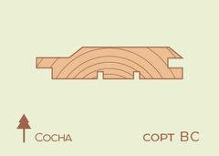 Вагонка Вагонка Сосна 12.5*96, сорт BC