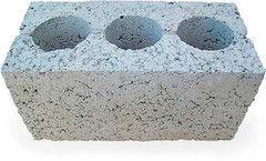 Блок строительный Тротуарки Керамзитобетонный 190*190*400