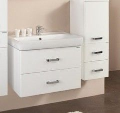 Мебель для ванной комнаты Акватон Тумба Америна 80 (1A137701AM010) белая