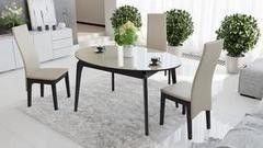 Обеденный стол Обеденный стол ТриЯ раздвижной со стеклом Марсель