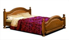 Кровать Кровать Гомельдрев Босфор ГМ 6233Р-04 (орех)