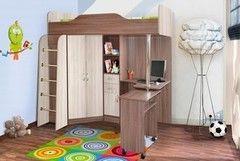 Двухъярусная кровать Квартет Бриз Ясень