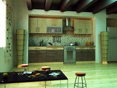 Кухня Кухня Алфексгрупп Зебрано