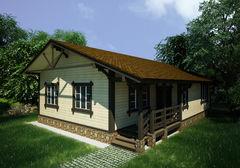 Каркасный дом Каркасный дом ИП Сопин А.В. Пример 294