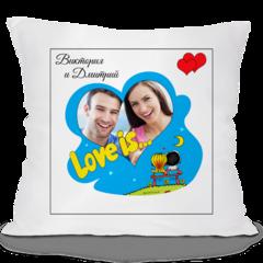 Декоративная подушка Карандаш Love is... 05112