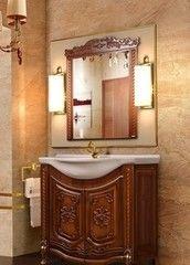 Мебель для ванной комнаты Калинковичский мебельный комбинат Венеция КМК 0461.13 (орех экко)