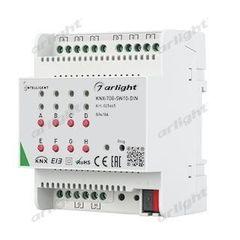 Arlight INTELLIGENT ARLIGHT Релейный модуль KNX-708-SW10-DIN (BUS, 8x10A)