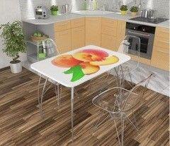 Обеденный стол Обеденный стол Дисави Фотопечать персик