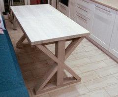 Обеденный стол Обеденный стол Драўляная майстэрня из массива дуба ОС-05Р