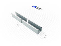 Профиль Профиль АрсеналМеталл ПС 50-50 0.5 мм