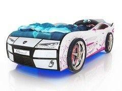 Детская кровать Детская кровать Romack Kiddy (белый - розовая лоза)