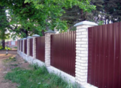 Забор Забор ЭФАЛ-СтройБел Вариант 41