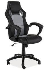 Офисное кресло Офисное кресло Signal Q-107 черно-серый