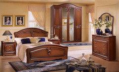 Спальня ФорестДекоГрупп Валерия-4 орех классическая