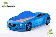 Детская кровать Детская кровать МебеЛев EVO Мазда (синий)