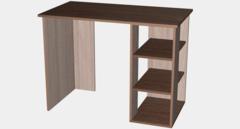 Письменный стол Мебель-Класс Имидж-1 МК 101.01 (ясень Шимо светлый/ясень Шимо темный)