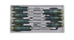 Столярный и слесарный инструмент Force Набор отверток 2068