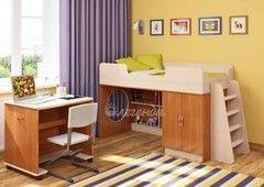 Двухъярусная кровать Легенда 2.2 (ольха+венге светлый)