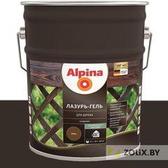 Защитный состав Защитный состав Alpina Лазурь-гель для дерева чёрный (10 л)