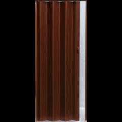Межкомнатная дверь Дверь-гармошка Pioneer Темный орех ДГ