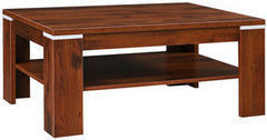 Журнальный столик Пинскдрев Монако П510.04 (дуб саттер + белый глянец)