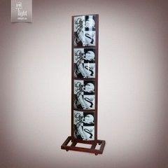 Напольный светильник N&B Light 4540 МАЙАМИ венге