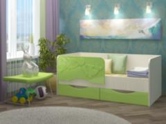 Детская кровать Детская кровать Регион 058 Дельфин-2 МДФ (фасад 3Д)