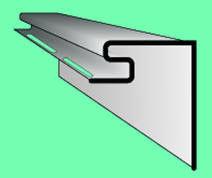 Сайдинг Сайдинг Vox S-20 Планка приоконная большая (светло-зеленая)