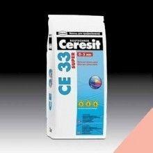Фуга Ceresit CE 33 Розовая №34