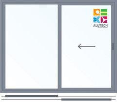 Алюминиевое окно Alutech 2000*1600 раздвижное