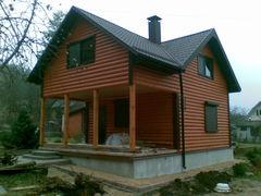Строительство домов Строительство домов WoodHata F-D-15