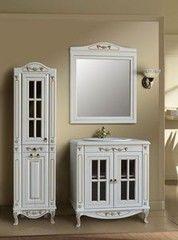 Мебель для ванной комнаты Атолл Polini-85 витрина дорато