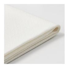 БАККАБРУ Чехол на 3-местный диван-кровать Хильте белый - Артикул: 003.828.67