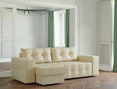 Диван Диван Настоящая мебель Ванкувер Мейсон (модель: 00-00003430) экокожа/бежевый
