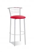 Барный стул Барный стул САВ-Лайн Марко хокер хром (красный)