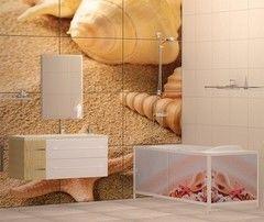 Экран под ванну Метакам Ультралегкий Арт дары моря 1480