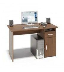 Письменный стол Сокол-Мебель СПМ-03.1 (дуб сонома / белый)