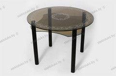 Обеденный стол Обеденный стол Стеклолюкс С 2-04 Флоренция Мускат