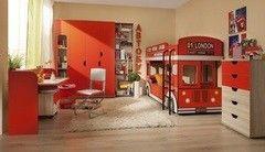 Детская комната Детская комната Глазовская мебельная фабрика Автобус 01