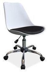 Офисное кресло Офисное кресло Signal Q-777 (белый/чёрный)