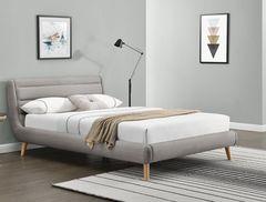 Кровать Кровать Halmar Elanda 160 (светло-серый)