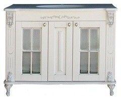 Мебель для ванной комнаты Атолл Тумба Александрия 100 (столешница из камня)