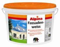 Краска Краска Alpina Fassadenweiss 5л
