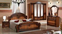 Спальня Слонимдревмебель Лилия 5-д (орех)