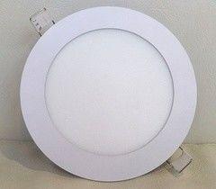 Встраиваемый светильник TruEnergy ультратонкий круглый, 12W, 3000K и 4000K