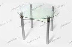 Обеденный стол Обеденный стол Стеклолюкс С 2-03 Флоренция Аква