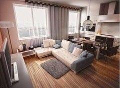 Дизайн гостиной ХоумСистемс Проект 9