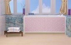 Экран под ванну Метакам Ультралегкий розовый иней 1680